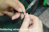 Cable welding /solding
