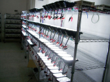 LED work light shelf