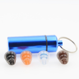 New arrival silicone earplug with self-developed filter