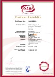 SAA Certificate of Celing/Wall mount light
