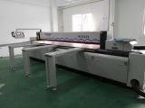 Foshan Mingji beam saw machine MJ-6233 cutting acrylic in customer′s factory