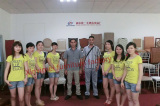 Xinyimei sales team with Libya Customer