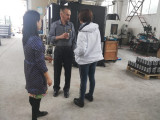 customer discuss workshop product