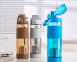 plastic water bottle with infuser