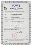 EU certificate for 10000V, class 1 insulation rubber mat