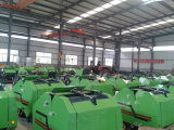 Plant for round hay baler