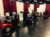 products show in Booth