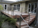 Stainless Steel Cable Railing Installed in USA