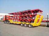 Semitrailer delivery