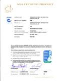 07 styles AGA certificates