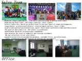 Guangzhou Nightjar stage lighting sale team and company office