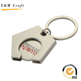 keychain with coin