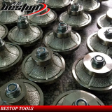 Vacuum Brazed Hand Profiling Wheel Routher Bit for Granite