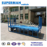 3 Tons Utility Activity Guardrail Flatbed Trailer Cargo Full Trailer for Luggage