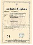 Certificate LED Spotlight CE LVD