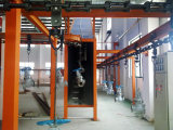 Machine assemble Overhead conveyor system powder coating line