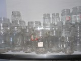 sample room for glassware/ glass bottle
