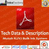 Tech.Data and manual for Mutoh bulk ink ssytem