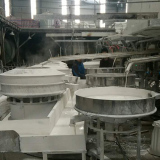 pigment vibratory separator is used in Ceramic Industry