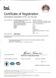 certificate of registration IS014001
