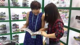 The client from Australia visit our booth in 115 Canton Fair