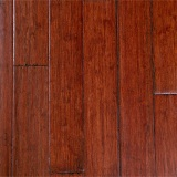 Merlot Distressed Strand Woven Bamboo Flooring