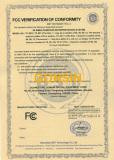 FCC Certificate - 2