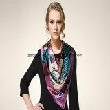 Newest Shawl Style Digital Printing Silk Scarf