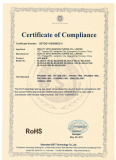 Certificate LED Bulb RoHs