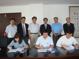 Signing collaboration agreement with Japanese customer