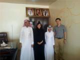 Visit to Saudi Arabia Client