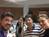 2015.8.12 Spain customer come to SKY&SEA