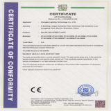 CE of Solar Light