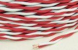 Rvs Copper Core PVC Insulated Twisted Flexible Electric Cable Wire