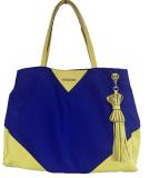 2016new Fashion Nylon with Leathr Ladies Tote Hand Bags (#1607-42)