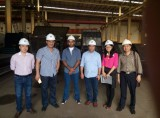 Jordan distributors visited dingbo in 2015 for PE600*900