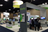 Klarity booth at 57th ASTRO Annual Meeting