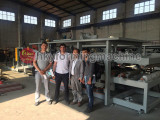 Uzbekistan Customer Came for Inspectiong Goods