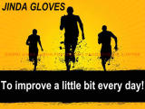 JINDA gloves slogan