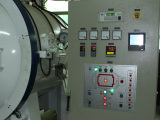Vacuum heat treatment room
