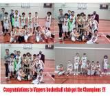 Vippers U12 Boys got the Champions