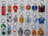 Acrylic and plastic key chain