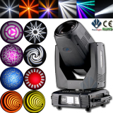NEW 17R 350W SPOT BEAM WASH 3 in 1 MOVING HEAD LIGHT