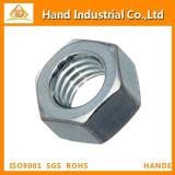 Steel Hex Nut, Zinc Plated Finish, Class 8, JIS B1181, M8-1.25 Thread Size, 12 mm Width Across Flats