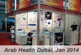 Arab Health 2014 Exhibition - find us at Dubai