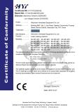 CE certificate of laser marking machine