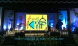 P5 indoor best rental led display in India Kolkata-40.96Sqm-12.8m*3.2m