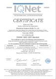 OHSAS 18001:2007 STANDARD CERTIFICATES