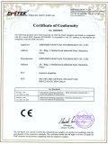 CE Certificate for ISO 4-20MA