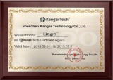 kanger certificate